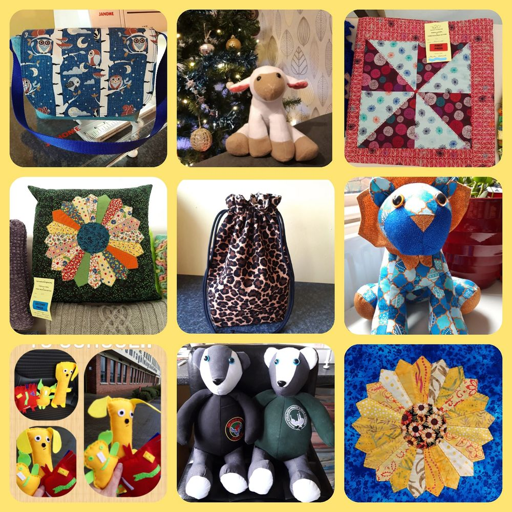 I make a variety of sewn items. My speciality are #MemoryBears and Quilts