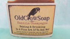 Old Crow Soap / Vanilla Champagne