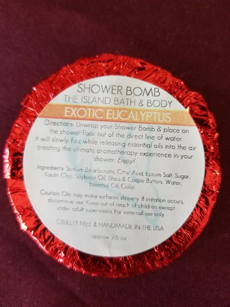 Shower Bomb / Exotic Eucalyptus