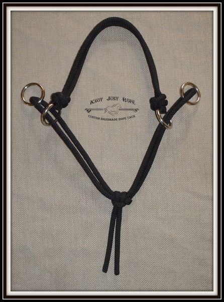 Modified O-ring Bitless Bridle Attachment