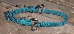 Braided Bitless Sidepull Noseband Attachment