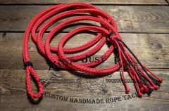 Lead Rope Braided 8 Strand w/ Loop