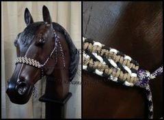 Rope Halter - Double Cobra Noseband