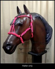 Braided Brazilian Combination Halter w/ Bridle Option