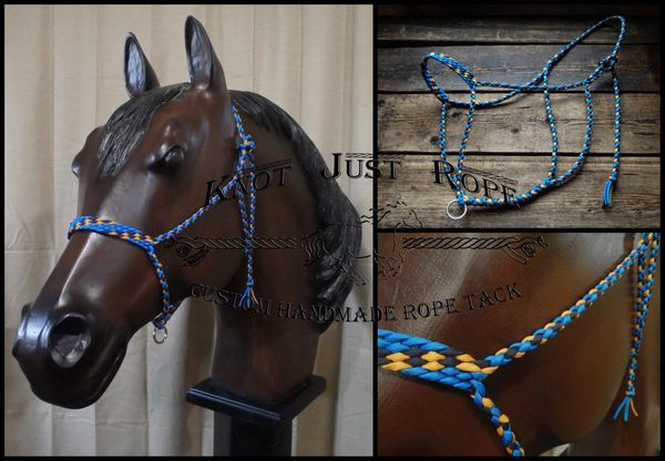 4 Strand Braided Paracord Horse Rope Halter
