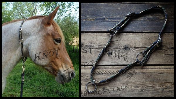 Braided Horse Grooming Neck Collar