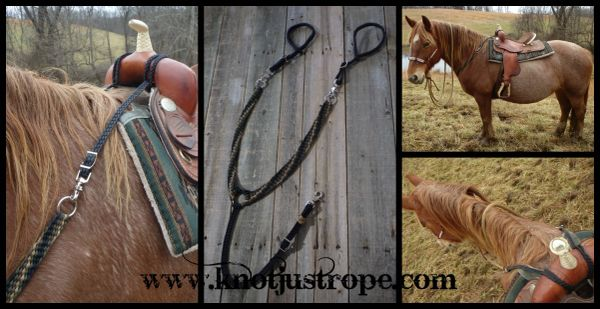Braided Breast Collar- Pulling Style