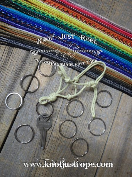 Rope Halter Keychain- mixed lot of 10