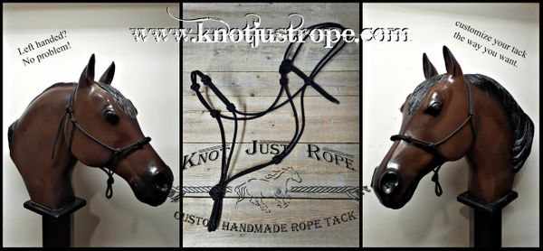 Left Handed Rope Halter