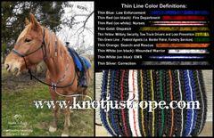 Thin Line Rope Halter