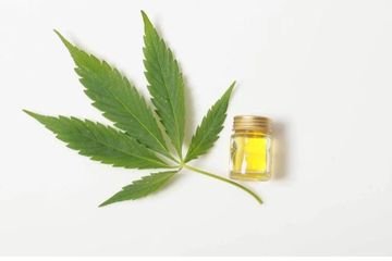 CBD oil massage day spa massage therapy