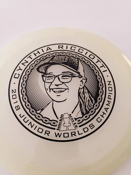 Cynthia Ricciotti 2018 Jr. World Champ Disc