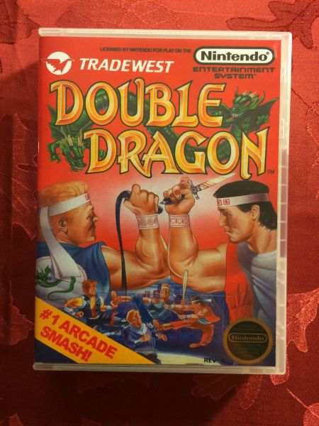 Double Dragon Game Case Game Case King Custom Game Cases For