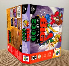 Big Mountain 2000 N64 Game Case with Internal Artwork