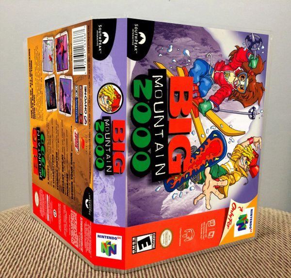 Big Mountain 2000 N64 Game Case with Internal Artwork