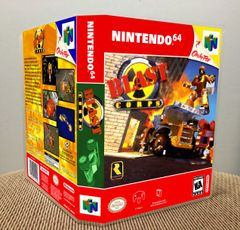 Blast Corps N64 Game Case with Internal Artwork