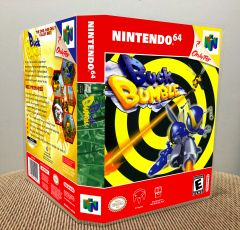 Buck Bumble N64 Game Case with Internal Artwork