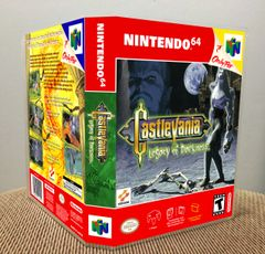 Castlevania Legacy of Darkness N64 Game Case with Internal Artwork