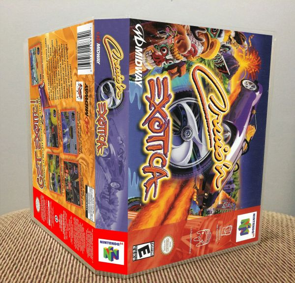 Cruis'n Exotica N64 Game Case with Internal Artwork