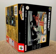 F-1 World Grand Prix II N64 Game Case with Internal Artwork