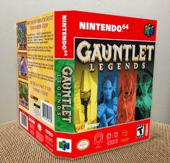 Gauntlet Legends N64 Game Case with Internal Artwork