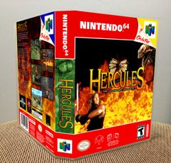 Hercules: The Legendary Journeys N64 Game Case with Internal Artwork