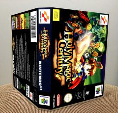 Holy Magic Century (Quest 64) N64 Game Case with Internal Artwork