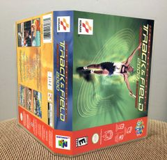 International Track & Field 2000 N64 Game Case with Internal Artwork