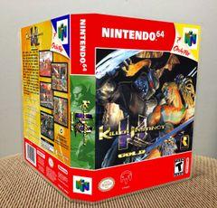 Killer Instinct Gold N64 Game Case with Internal Artwork