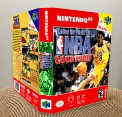 Kobe Bryant in NBA Courtside N64 Game Case with Internal Artwork