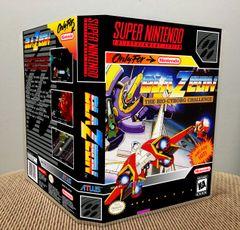 BlaZeon: The Bio-Cyborg Challenge SNES Game Case with Internal Artwork
