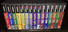Pokemon 15 Case Gameboy Lot WITH CUSTOM SPINE!