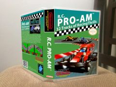 R.C. Pro-Am NES Game Case with Internal Artwork