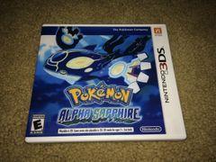 Pokemon Alpha Sapphire 3DS Custom Game Case