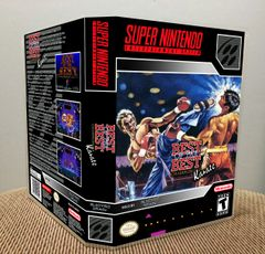 Best of the Best: Championship Karate SNES Game Case with Internal Artwork