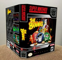 Brainies, The SNES Game Case with Internal Artwork