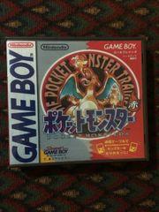 Pokemon Red Version Japanese Gameboy Game Case