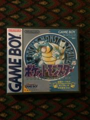 Pokemon Blue Version Japanese Gameboy Game Case