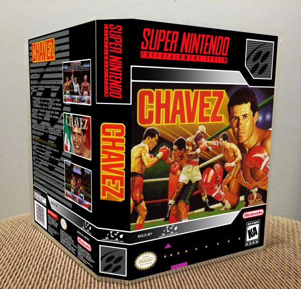Chavez SNES Game Case with Internal Artwork