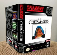 Chessmaster, The SNES Game Case with Internal Artwork