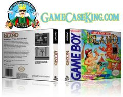 Adventure Island Gameboy Game Case