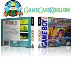 Adventure Island II Aliens in Paradise Gameboy Game Case
