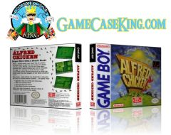 Alfred Chicken Gameboy Game Case