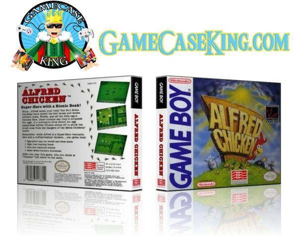 Alfred Chicken Gameboy Game Case
