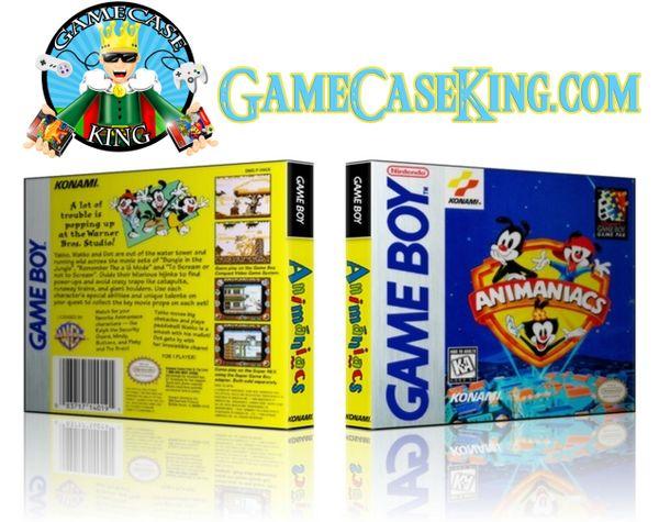 Animaniacs Gameboy Game Case