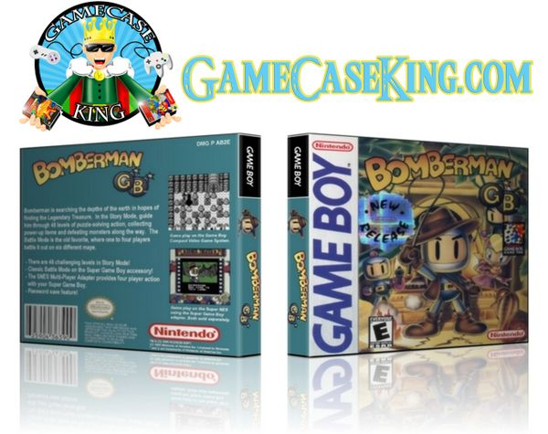 Bomberman GB Gameboy Game Case