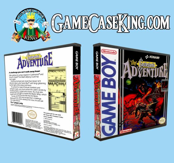 Castlevania Adventure, The Gameboy Game Case