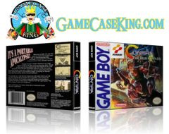 Contra the Alien Wars Gameboy Game Case