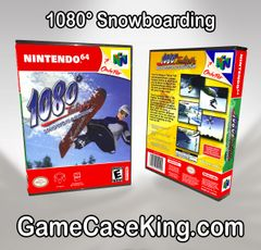1080° Snowboarding N64 Game Case