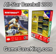 All-Star Baseball 2000 N64 Game Case